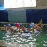 Занятие в бассейне
